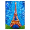 5D Diamond Painting Kits Colored Drawing Landscape Eiffel Tower