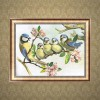 5D DIY Diamond Painting Kits Artistic Bird Family on the Branches