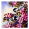 5D DIY Diamond Painting Kits Birds on the Flower Branches