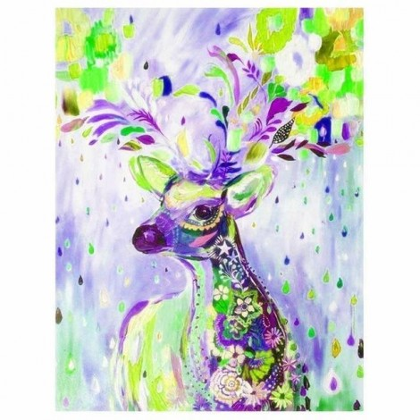 5D Diamond Painting Kits Colored Drawing Dreamy Deer